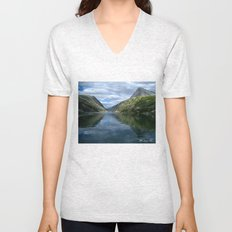 Rondane - Rondevannet  Norway Unisex V-Neck