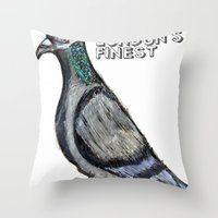 London's Finest: The Gre… Throw Pillow