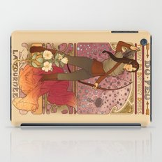 La fille du feu iPad Case