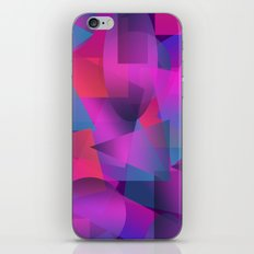 Abstract cube iPhone & iPod Skin