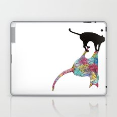 The Cat and Its Shadow Laptop & iPad Skin