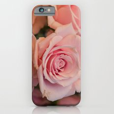 Pink Roses Slim Case iPhone 6s