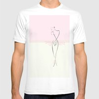 Dance Mens Fitted Tee White SMALL