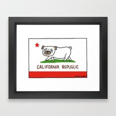California RePuglic Framed Art Print
