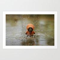 The Rain KILLED KENNY!  Art Print