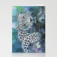 Leopard Abstract Stationery Cards