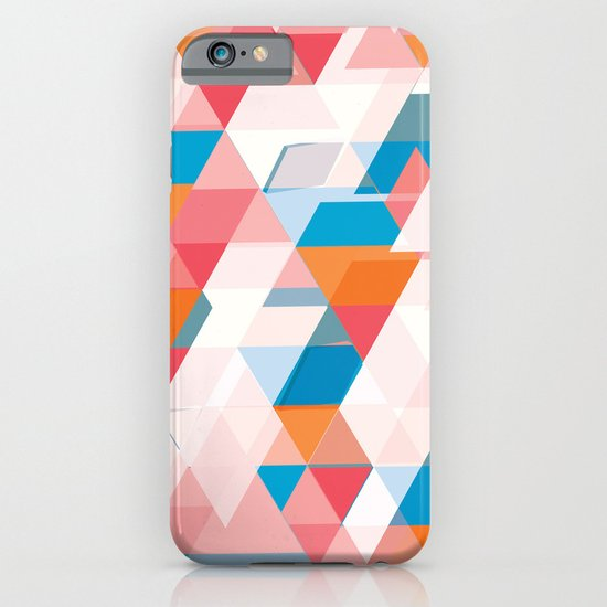 Crumbling triangles iPhone & iPod Case