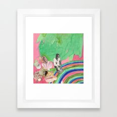 collecting Framed Art Print