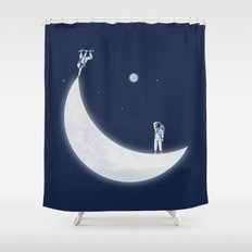 Skate Park Shower Curtain
