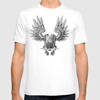 FF14 - Chocobo / Materia… Mens Fitted Tee White SMALL