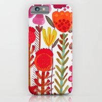 iPhone Cases featuring rouge love by sylvie demers
