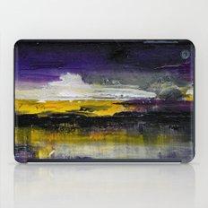 Purple Abstract Landscape iPad Case