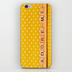 Adore Me iPhone & iPod Skin