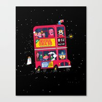 Universal Cereal Bus Canvas Print