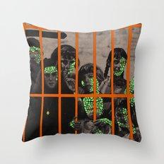 Plague kids Throw Pillow