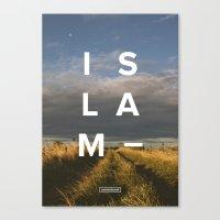 Islam- Poster Canvas Print