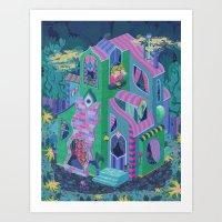 Ambrose's House Art Print