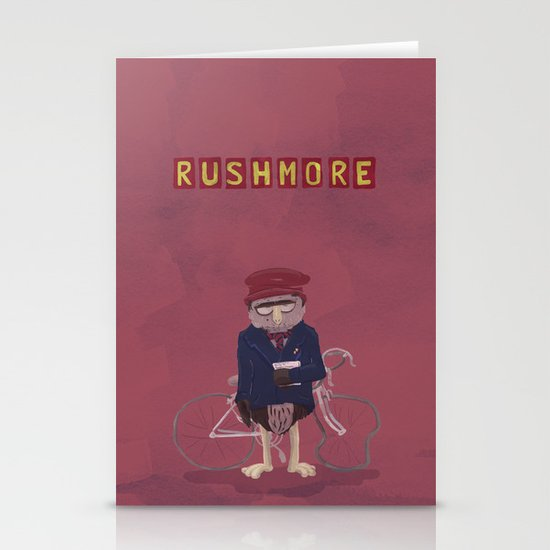 more of a rush Stationery Card