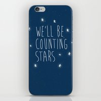 We'll be counting stars  iPhone & iPod Skin