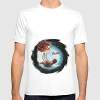 fetus Mens Fitted Tee White SMALL
