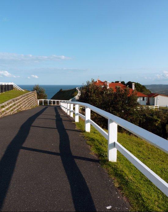Walkway to Byron Bay, Australia Art Print