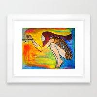 Hunger for Your Love Framed Art Print