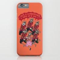 he's a lumberjack and he's ok iPhone 6 Slim Case