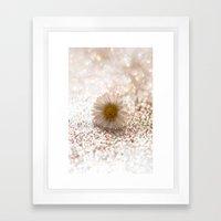 DAISY GOLD - for Mackenzie Framed Art Print