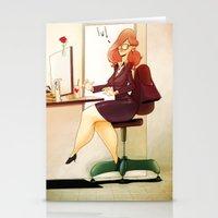 Secretary Stationery Cards