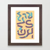 In You Framed Art Print