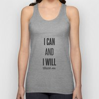 I Can And I Will Watch M… Unisex Tank Top