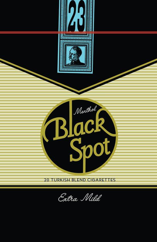 Black Spot Cigarettes Art Print