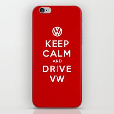 Keep Calm and Drive Volkswagen (Keep Calm and Carry On) iPhone & iPod Skin
