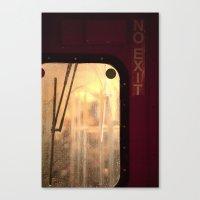 No Exit Canvas Print