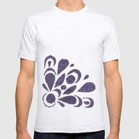 morado Mens Fitted Tee Ash Grey SMALL