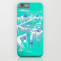 Penguins (flat, palette swap) iPhone 6s Slim Case