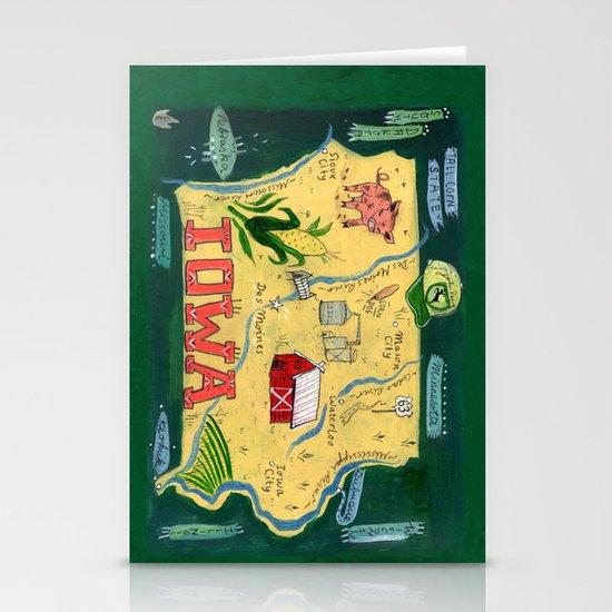 IOWA Stationery Card