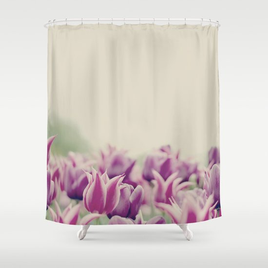 Tulips II Shower Curtain