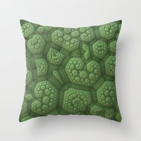 Dinosaur Skin Throw Pillow