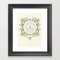 Yoga Garden I Framed Art Print