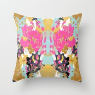 Laurel - Abstract Painti… Throw Pillow