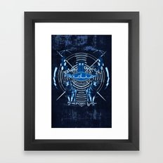 Bad Wolf Radio Framed Art Print