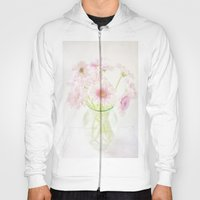 Pink Gerberas In A Vase {Light Textured Version} Hoody