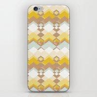 RETRO DESERT iPhone & iPod Skin
