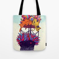 Full Head Tote Bag
