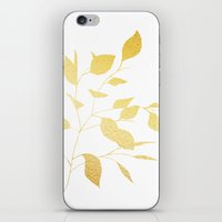 Leaves Gold iPhone & iPod Skin