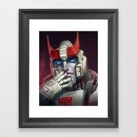 Bad Blood - pt2 Framed Art Print