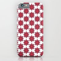 iPhone & iPod Case featuring Flowery Red by Sumii Haleem