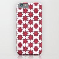 Flowery Red iPhone 6 Slim Case