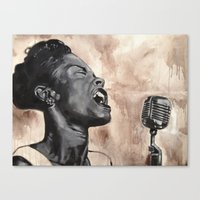 billie Canvas Print
